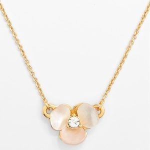 Kate Spade Disco Pansy Pendant Necklace
